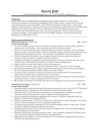 Heavy Equipment Operator Project Manager Resume Functional Skills