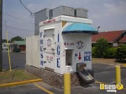 Commercial Ice Vending Machine Custom Top Stand Alone Ice Maker Renovation Artisticjeanius