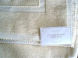 reversible cotton bath rugs cotton bath rugs impressive inspiration cotton bathroom rugs cotton bath rug reversible