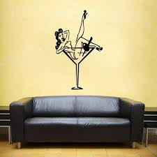 pin up girl vinyl wall decal