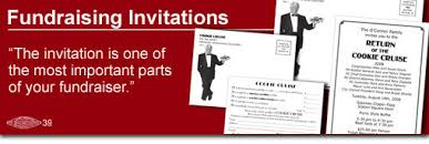 political fundraiser invite fundraising invitation packages custom printing for your