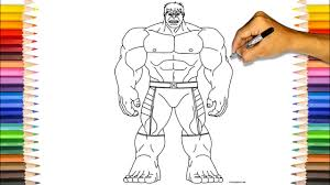 Bruce banner becomes hulk when he is overwhelmed by anger and stress, he acquired a size exceeding 2.30 meters and his. The Incredible Hulk Coloring Book Professor Hulk Purple Short Coloring Pages Youtube