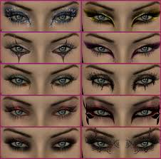 eyes diffe eye makeup styles