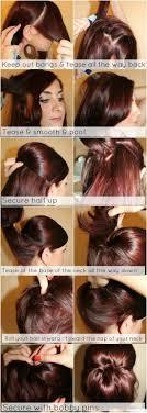 bun tutorial for fine hair low chignon hairstyle