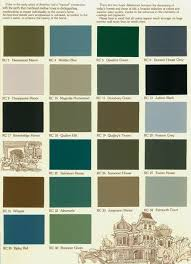 Historic Exterior House Colors Color Concert Color Choices