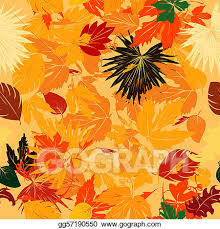 Fall Leaf Pattern New Stock Illustration Fall Leaves Pattern Clipart Gg48 GoGraph