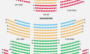 New Amsterdam Seating Chart Broadway 47 Curious The Al Hirschfeld Theatre Seating Chart