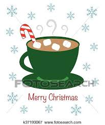 hot chocolate christmas clip art. Beautiful Hot Clip Art  Winter Hot Chocolate Fotosearch Search Clipart Illustration  Posters Drawings In Chocolate Christmas A