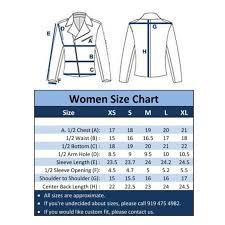 Us Women S Shirt Size Chart Us Womens Jacket Size Chart Toffee Art