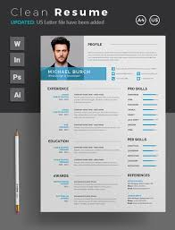 Best Resume Design Best Of 100 Stylish Professional CV Resume Templates 97