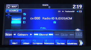 siriusxm basics how to listen in your honda pilot