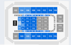 Mesquite Arena Seating Chart The Temptations And The Commodores On December 9 At 7 30 P M