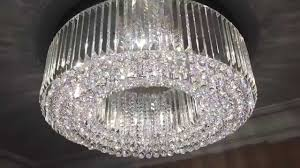 halo custom bespoke led crystal chandelier by first class lighting