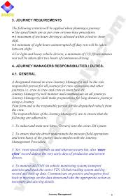 Light Vehicle Driver Duties And Responsibilities Journey Management Journey Management Pdf Free Download