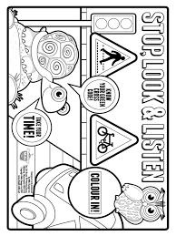 Small Picture Safety coloring pages Download and print Safety coloring pages