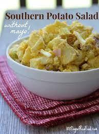 southern potato salad without mayo