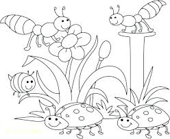 Printable Spring Coloring Pages Free Printable Springtime Coloring