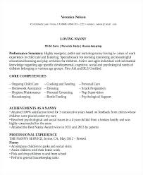 Another Word Nanny Resume Full Time Nanny Resume Sample Best Another Word For Experienced Resume