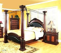 Four Poster Canopy Bed Wood Canopy Bed Wooden Canopy Bed Frame ...