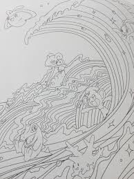 プレミアムキャラ塗り絵アクトクリエーターズボックスアトレ松戸