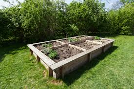 Kitchen Garden Planter Raised Bed Gardens And Small Plot Plans Gardening Tips The Old