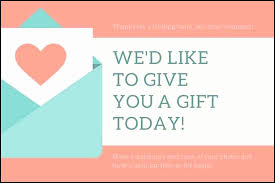 Lularoe Gift Certificate Template Best Of Free Gift Card Template