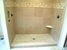 cost to re tile walk in shower average install full image for installing tub inst