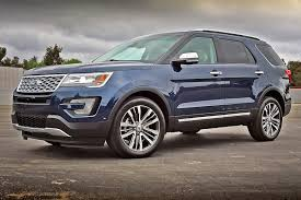 2016 Ford Explorer Color Chart One Week With 2016 Ford Explorer Platinum Automobile