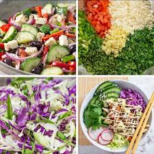 these keto cobb salads are the perfect low carb lunch idea to meal prep you can make them on