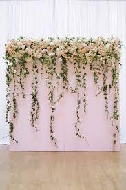 fl and wood pallet wedding backdrop ideas fl wedding backdrop for indoor wedding