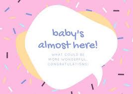 Baby Congrats Note Customize 211 Congratulations Card Templates Online Canva