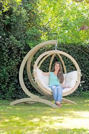 image of top hammock chair stand