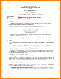 7 Example Of Request For Proposal Emt Resume Request For Proposal