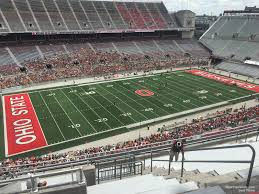 Ohio Stadium Seating Chart With Rows Ohio Stadium Section 13c Rateyourseats Com