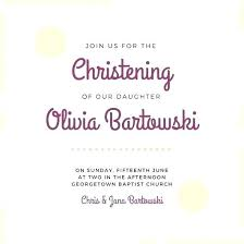 Baptism Card Template Christening Invitations With Reply Cards Info Baptism Card
