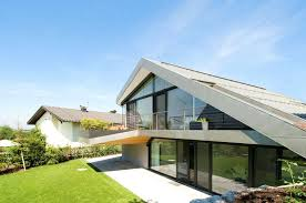 modern roof house modern mix sloped roof house plan home design and floor contemporary with carports modern roof house