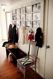 Door Picture Frame Coat Rack Interesting DIY Coat Hangers For Entryway Coat racks Reuse and Foyers 14