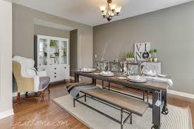 rustic dining room decorating ideas. Dining Room Winsome Industrial Home Decor Handmade Custom Built Delightful New Casual Decorating Pictures Rustic Ideas O