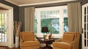 Curtains Big Window Decorating Curtain Ideas For 3 Large And Windows