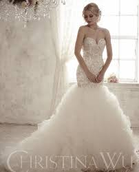 Mermaid Designer Wedding Dress Lace Mermaid Designer Bela Bridal