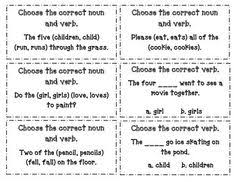 94 Best Subject Verb Agreement Images Subject Verb Agreement