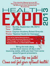 Health Fair Flyers Ci Conference Health Fair Flyer 2013 Cayman Islands Conference