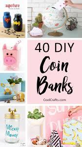 Diy Alkansya Design 40 Cool Diy Piggy Banks For Kids Adults Diy Crafts For