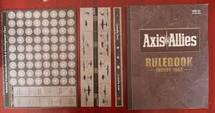 Axis Allies Europe 1940 2012 Avalon Hill 2nd Edition