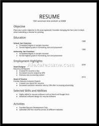 resume simple example resume job examples musiccityspiritsandcocktail com