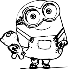 Coloring Coloring Sheets Minion Page Pages For Kids