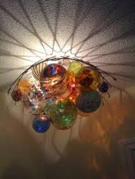 unique chandelier lighting. unique chandelier from glass orbs and wire plant hanger great for a garden room lighting c