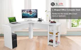 large desks for home office. This Desk Fits Snuggly In A Corner To Maximize Your Home Office Space. The Large  Desk Top Surface Provides Plenty Of Room For Monitor Or Laptop, Desks L