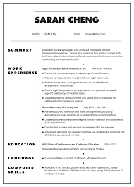Professional Resume Examples 2020 Secretary Resume Examples Secretary Resume Examples 2019