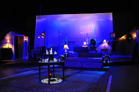 super pretty set for the glass menagerie featuring practical super pretty set for the glass menagerie featuring practical lamps